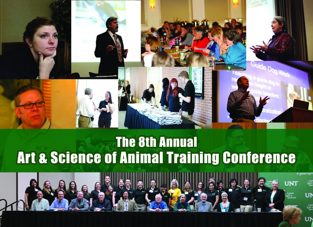 The 2016 Art and Science of Animal Training Conference in Dallas, Texas