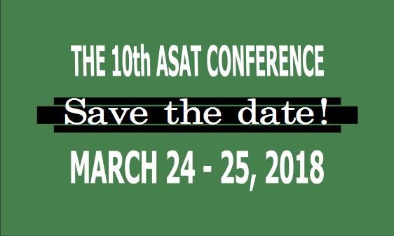 ASAT ORCA Conference STD 2018